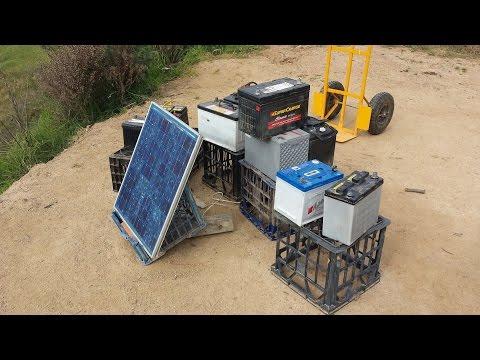 Off Grid Solar Power – DIY LED lighting.