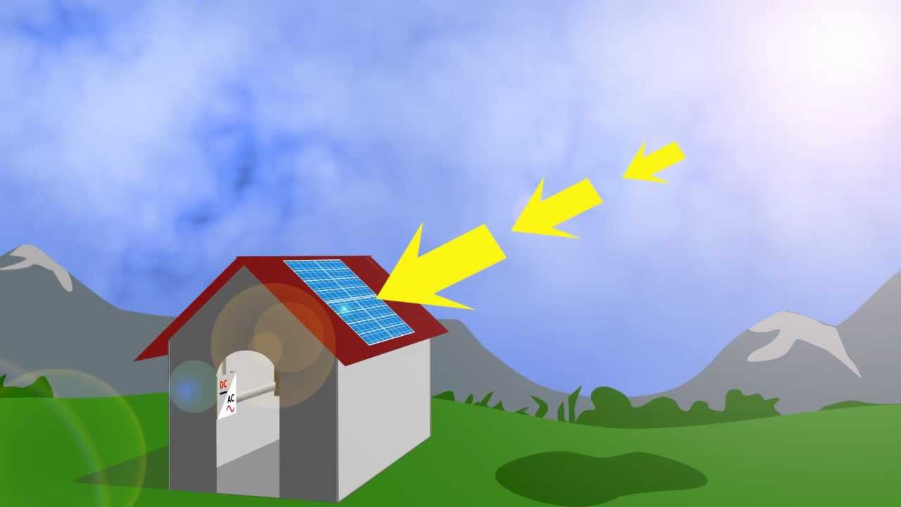 How Solar Pv Panels Work Youtube Solarpvdiagramhowitworksjpg
