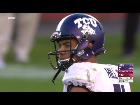 TCU vs Iowa State Football 2017 Highlights