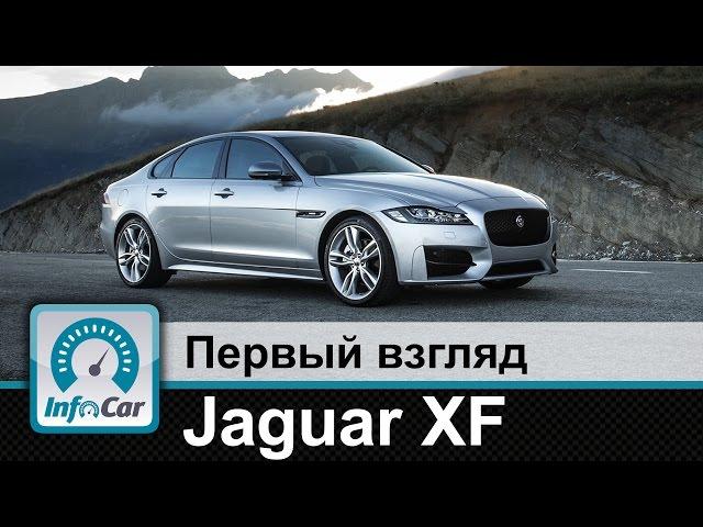 Jaguar XF - первый взгляд InfoCar.ua (Ягуар ХФ)
