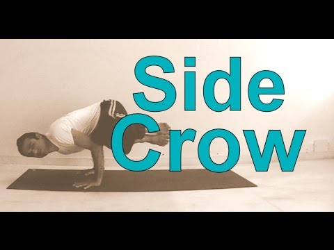 Prep Side Crane for Beginners | Parsva Bakasana Yoga Poses Sequence | Arm Balance