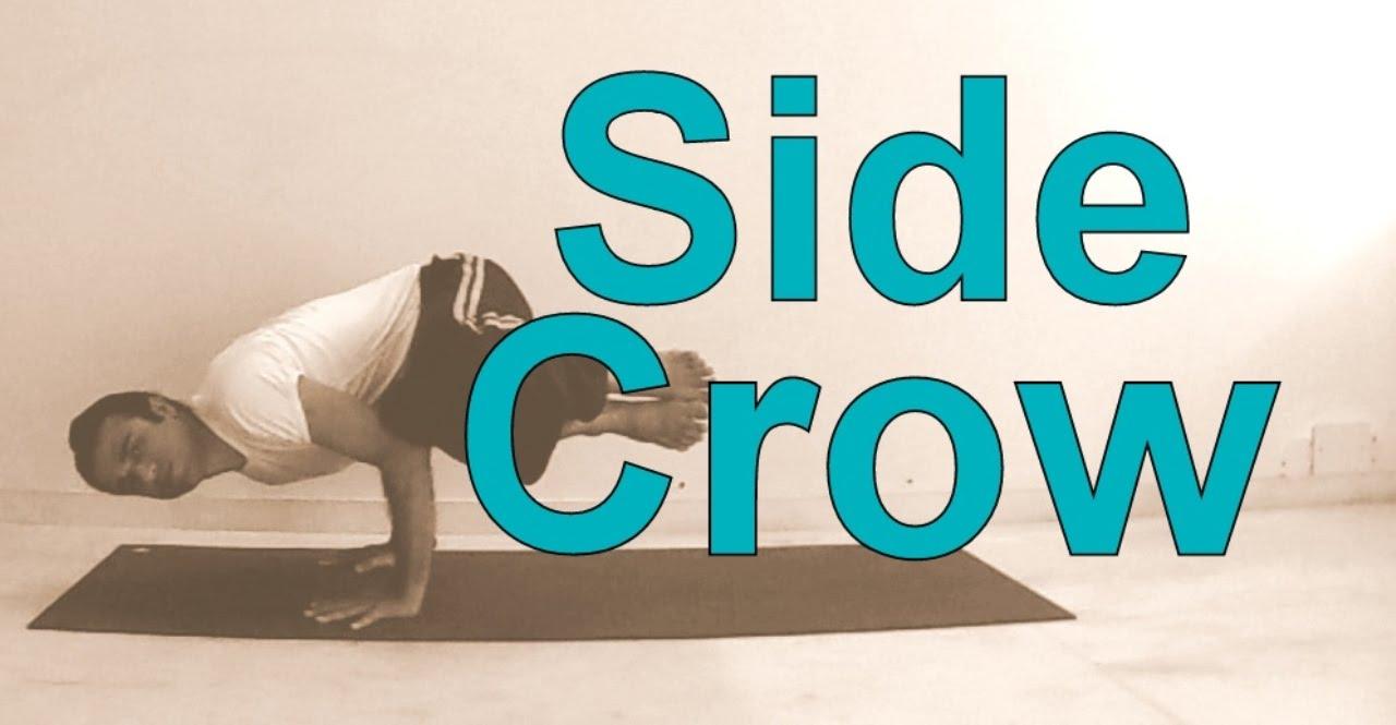 Prep Side Crane for Beginners   Parsva Bakasana Yoga Poses Sequence   Arm  Balance
