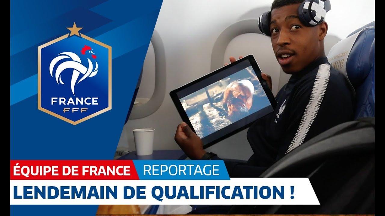 Equipe de France : Les Bleus de retour à Istra après la qualification I FFF 2018