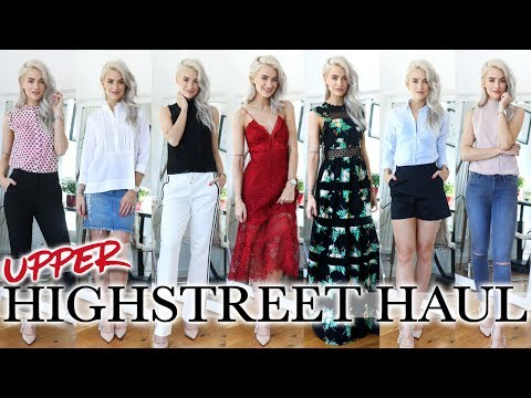 HIGH-END HIGH STREET HAUL AND TRY ON! REISS, WHISTLES, ALL SAINTS, TOMMY, SELF PORTRAIT