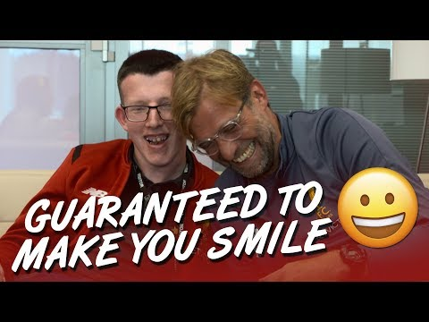 Guaranteed to make you smile | Klopp's Make-A-Wish interview with Loyd