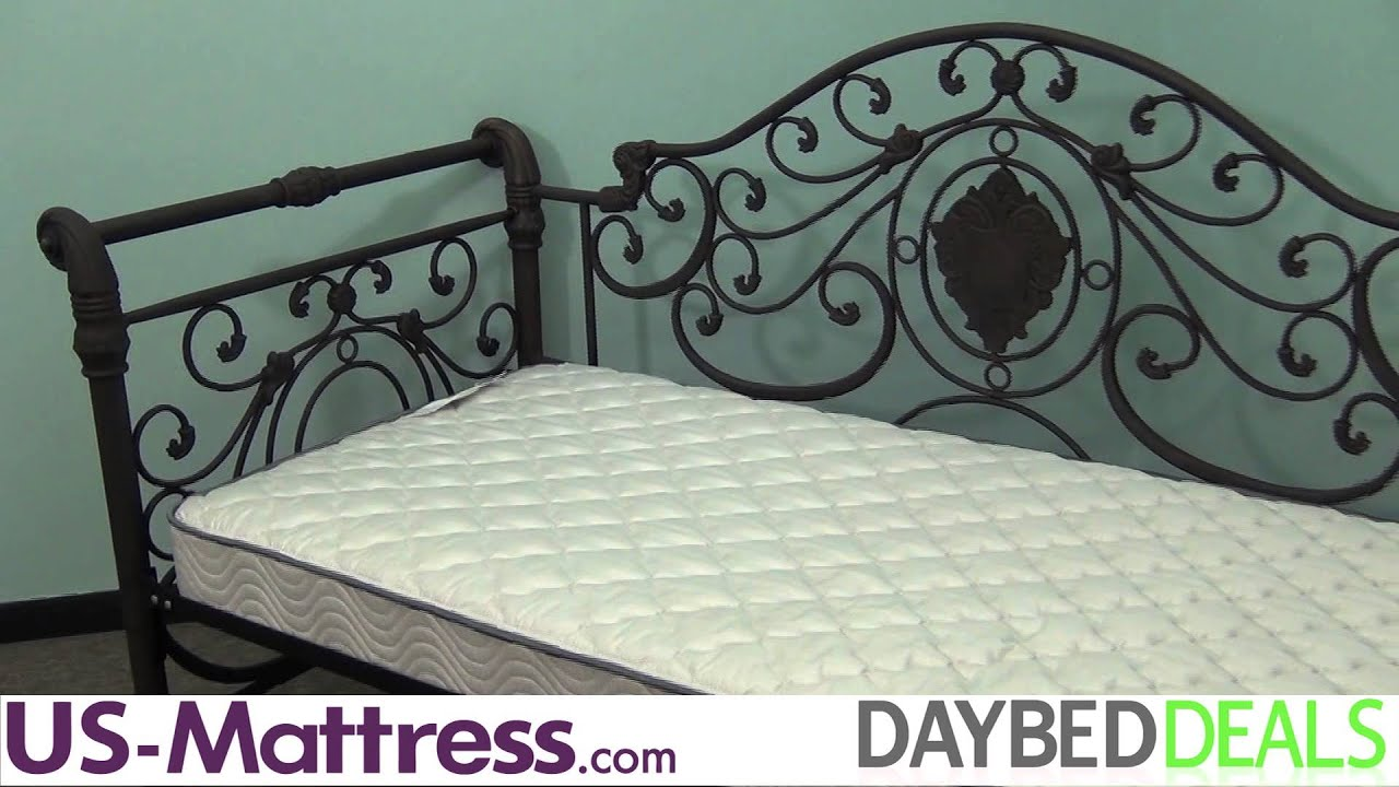 Hillsdale Furniture Mercer Daybed with Free Mattress