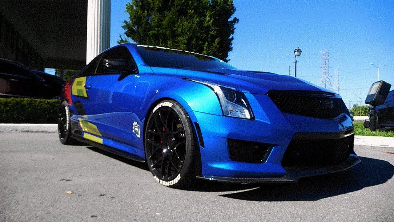 Cadillac Ats V Coupe >> Custom Aspire Autosports ATS-V - YouTube
