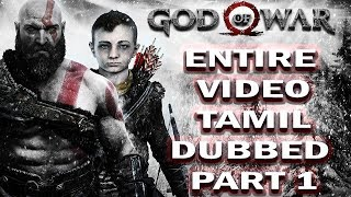 god of war tamil dubbed  part 1