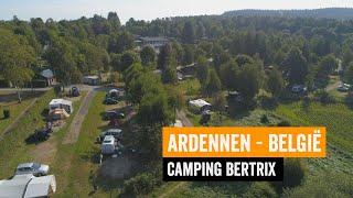 Camping Bertrix I Ardennen België van Best Camp tijdens RTL Kampeert