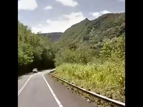 Driving from Highway 11, Pahala, HI 96... to Mamalahoa Highway,