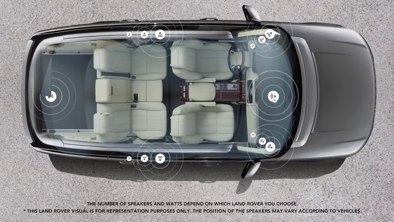 Land Rover Meridian Surround Sound System Youtube