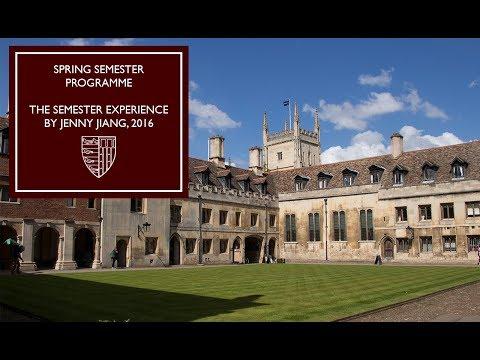 Spring Semester Programme at Pembroke: Social