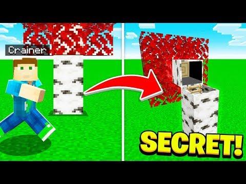 MY *SECRET* MINECRAFT HOUSE! (Camp Minecraft)