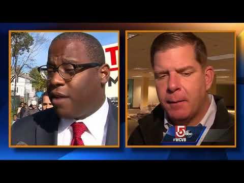 Walsh, challenger Jackson vie in Boston mayor race