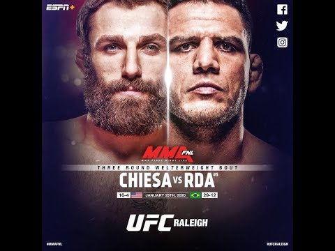 EA Sports UFC 3 Рафаэль дос Аньос - Майкл Кьеза (Rafael dos Anjos - Michael Chiesa)