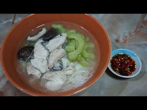 SLICED FISH SOUP RECIPE Chinese Style [Cooking & Eating]