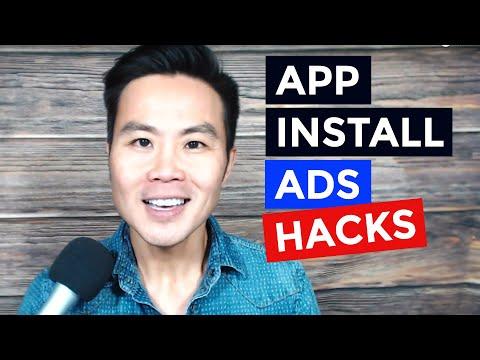 App Install Ads Hacks