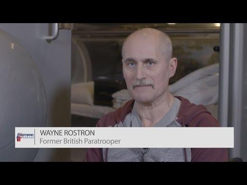 Former British Paratrooper Wayne Rostron   The Independence Fund