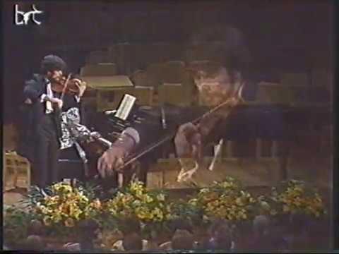 Evgeny Bushkov plays J.Brahms Violin Sonata No.3, op.108 in D MInor (Brussels,1989)