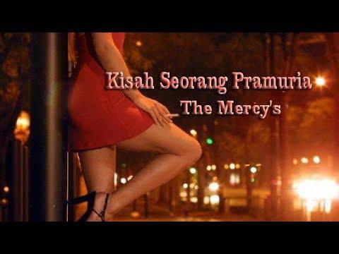Kisah Seorang Pramuria ( Lyric ) - The Mercy's