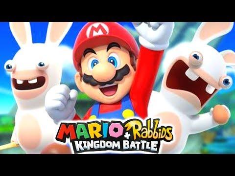 MARIO RABBIDS KINGDOM BATTLE GAMEPLAY