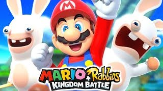 MARIO RABBIDS KINGDOM BATTLE GAMEPLAY