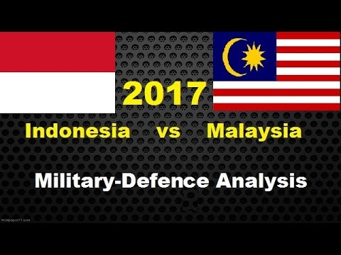INDONESIA vs MALAYSIA military defence analysis 2017