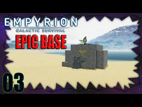 Empyrion - Galactic Survival Server - Part 03: Powered My Epic Base