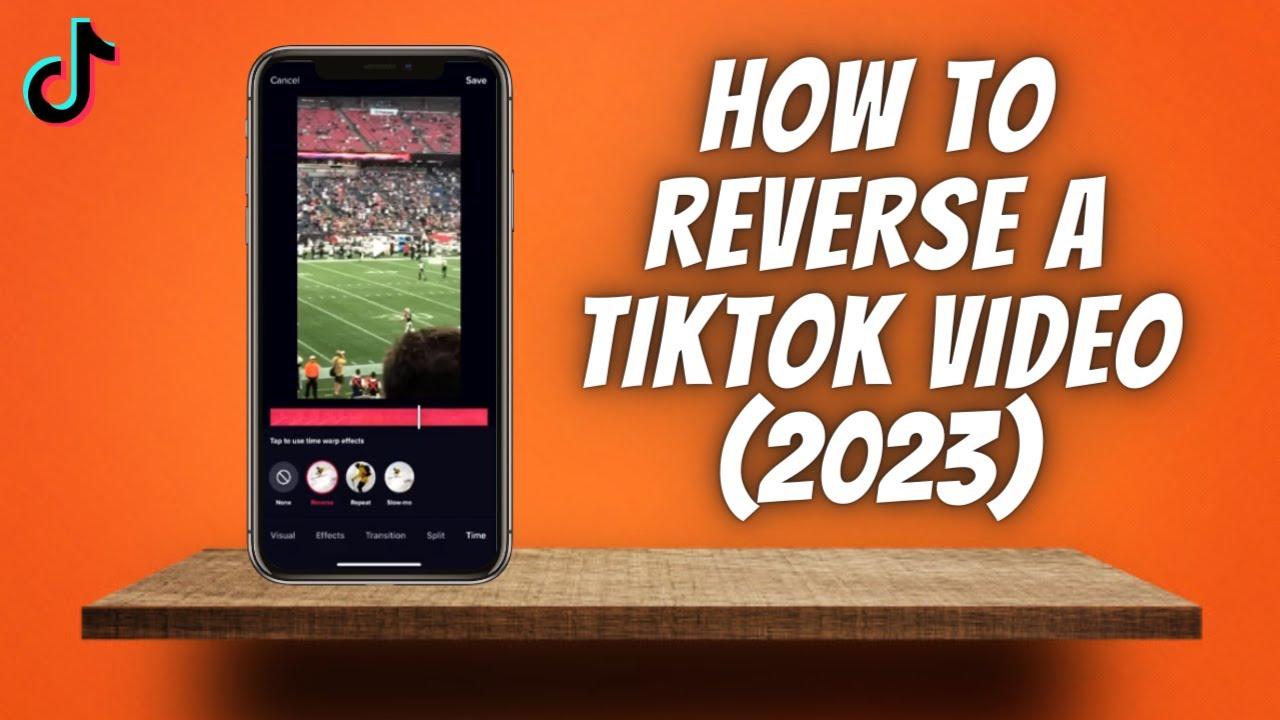 How To Reverse A Tiktok Video 2020 Youtube