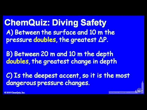Diving Safety  (Quiz)
