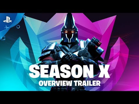 Fortnite Season X | Battle Pass Gameplay Overview Trailer | PS4