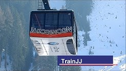 Davos - Jakobshorn by Cable Car - Luftseilbahn CH | Ski Resort Davos Klosters Mountains Switzerland