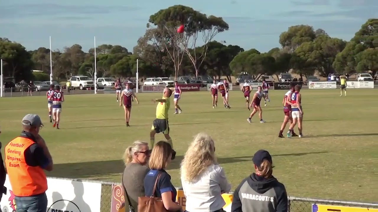 Rd 2 Newcombe vs Queenscliffe Throw Ins