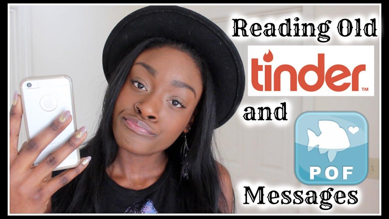 Reading Old Tinder/POF Messages