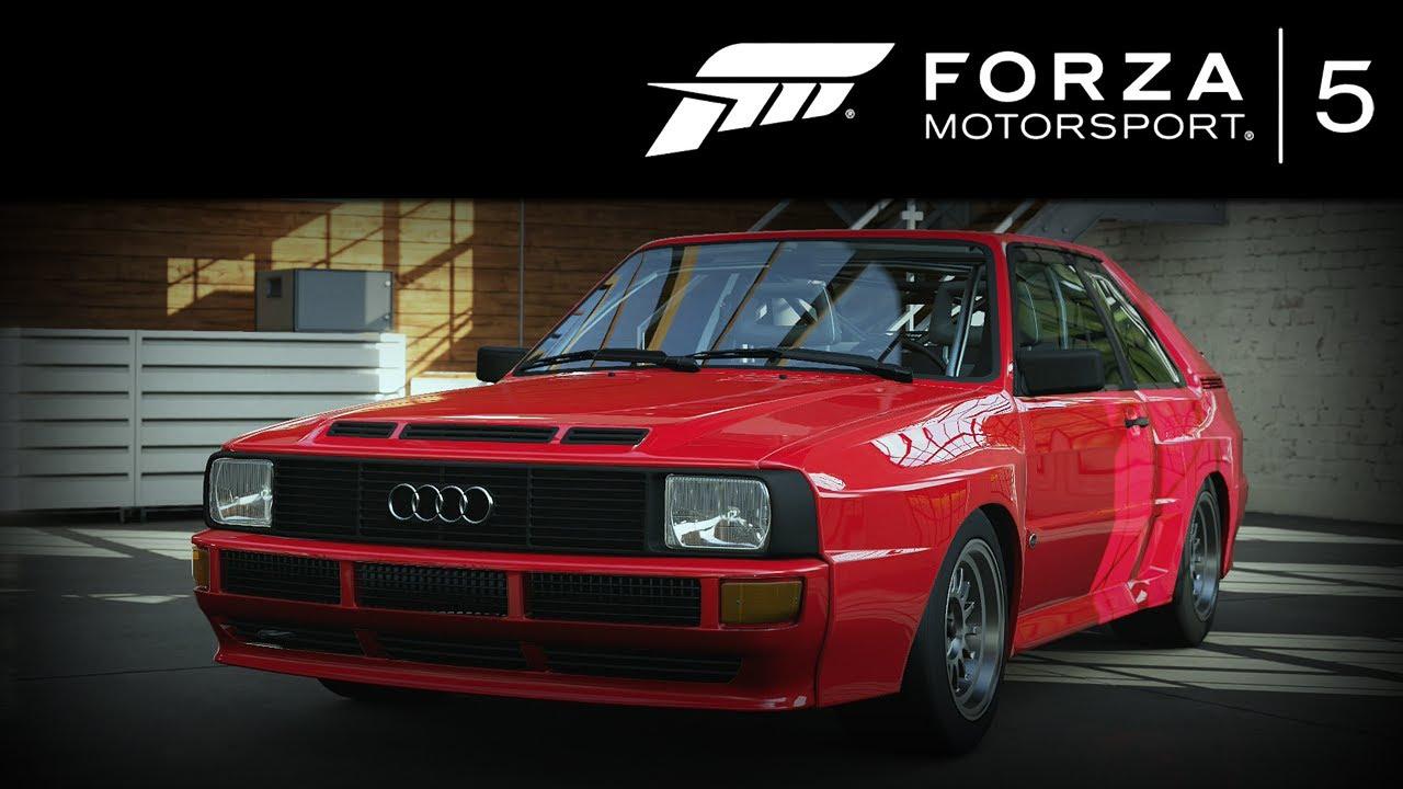 Forza 5 Audi Sport quattro 1983 (Autovista) Forzavista +1 Lap - YouTube
