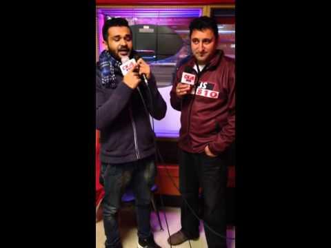 Khauab khosa on radio dhamal winnipeg ,,babbu maan di chatri da jwab ,,new song 2014
