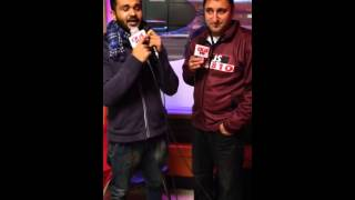 Khauab khosa on radio dhamal winnipeg ,,babbu maan di chatri da jwab ,,new song 2014