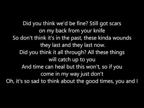 Bad Blood- Cover by Cimorelli/The Johnsons****LYRICS