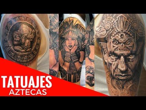 Tatuajes Aztecas de Diseños Exclusivos que Desearás Poder Tatuarte en la Piel Para la Buena Fortuna
