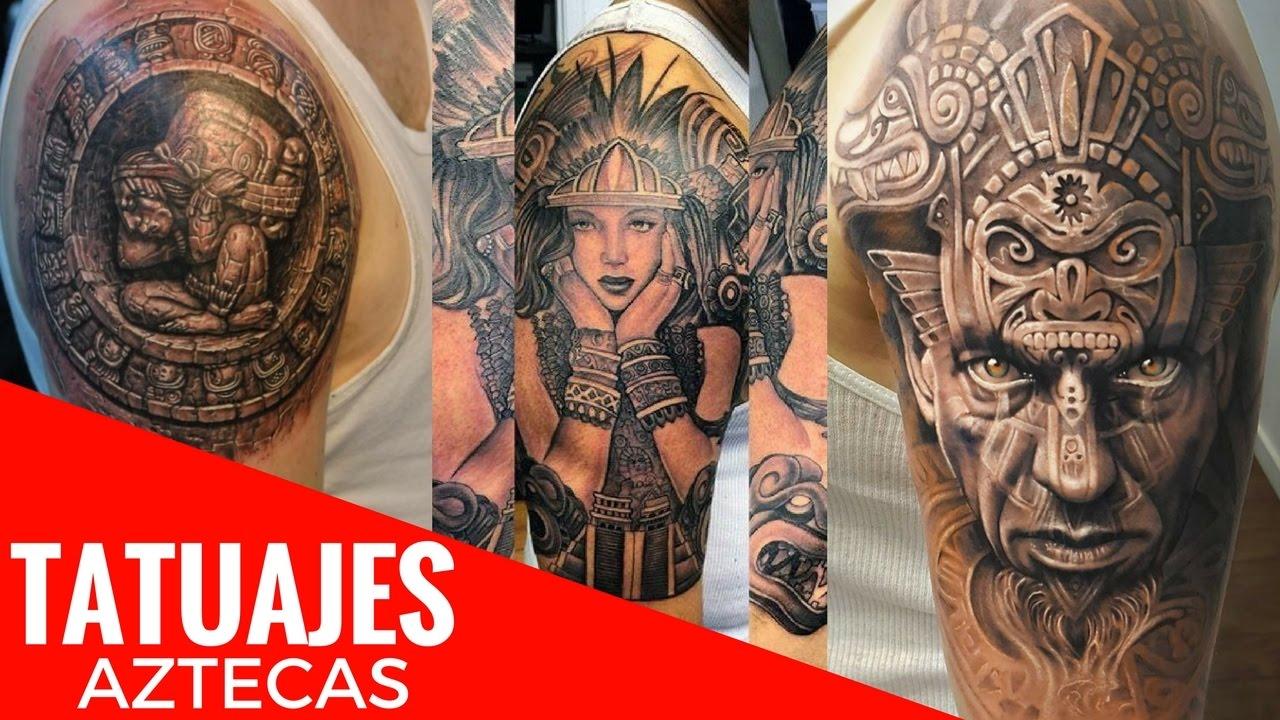 Tatuajes Aztecas De Diseños Exclusivos Que Desearás Poder Tatuarte