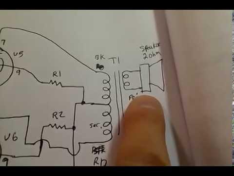 DIY Push-Pull EL84 Vacuum Tube Audio amp - YouTube