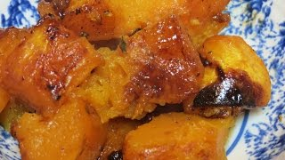 Roasted Squash With Balsamic And Maple Glaze -- The Frugal Chef