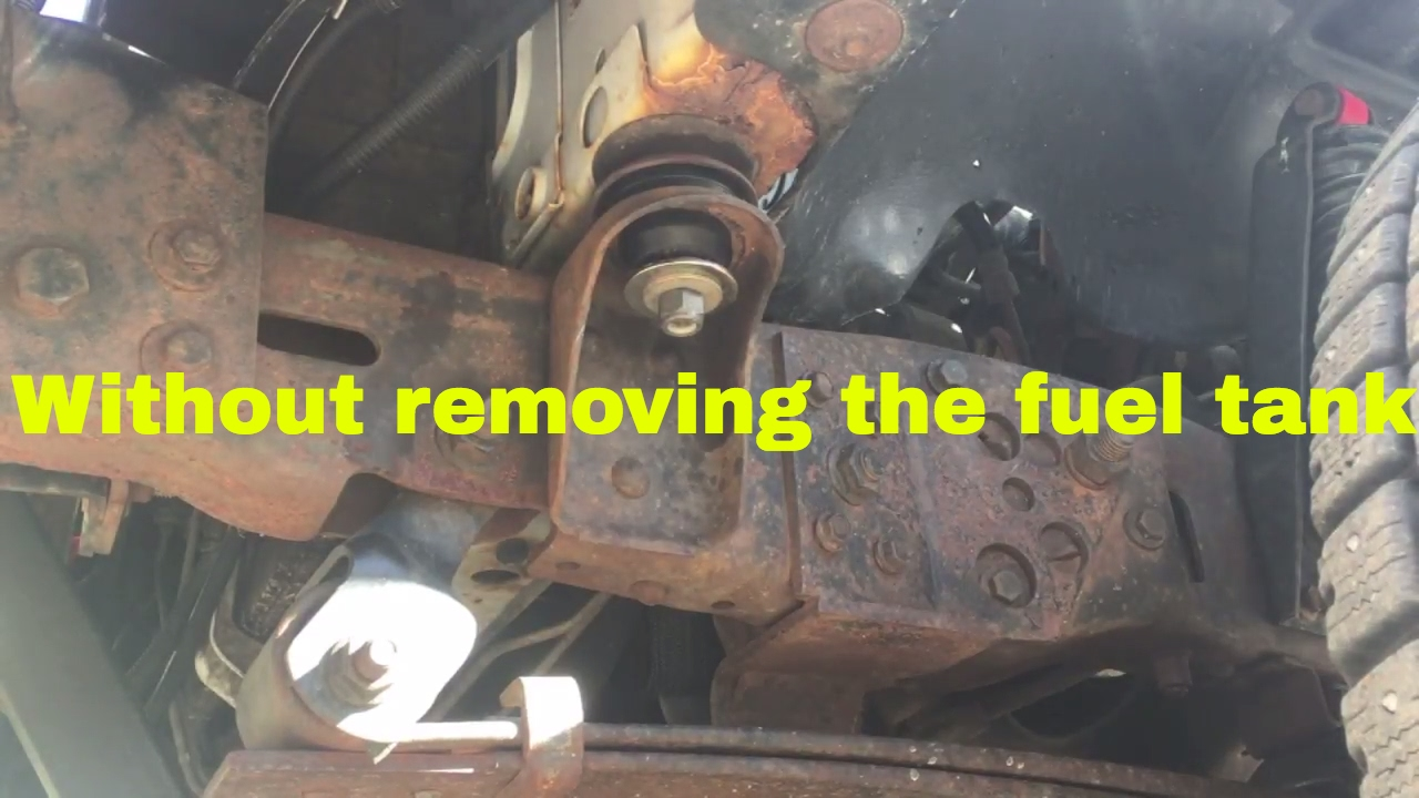 hight resolution of obs ford body mount replacement tutorial