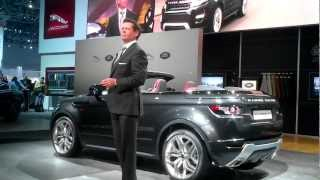 Range Rover Evoque Convertible Concept 2012 Videos