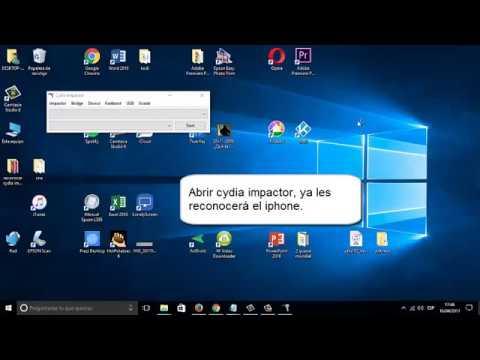 reconocer Iphone en cydia impactor windows 10