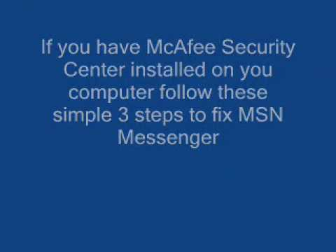 Error Code 80072efd MSN Solution Tutorial