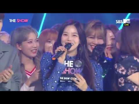 OH MY GIRL,  2nd win! THE SHOW CHOICE [THE SHOW 180918]