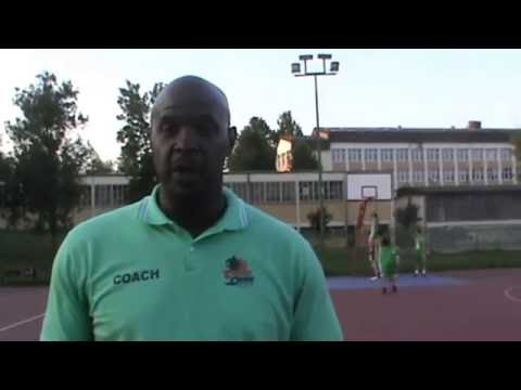 Cross Over camp - Corey Gaines - Bridge academy London, UK