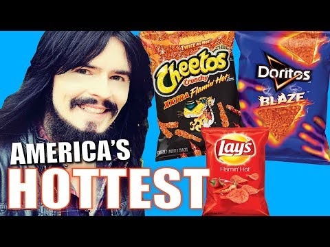 Irish People Taste Test AMERICA's HOTTEST CHIPS!! - ( Lays, Cheetos, Doritos ) - Xxtra Flamin Blaze
