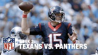 Ryan Mallett Lofts a 48-Yard Bomb to Nate Washington   Texans vs. Panthers   NFL